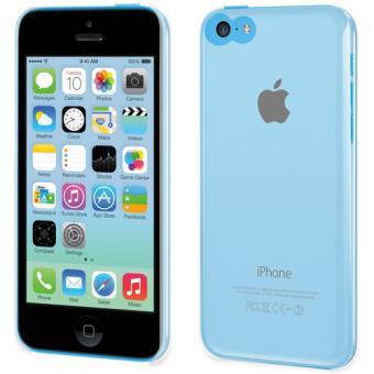 Coque Muvit Clear Back pour iPhone 5c Transparente