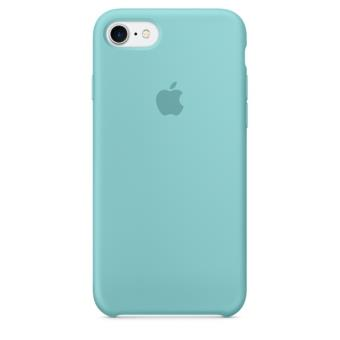 Coque en silicone apple pour iphone 7 bleu m diterran e for Coque iphone 7 miroir
