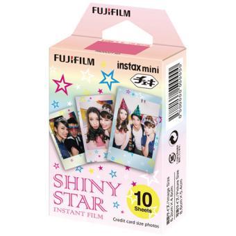 film instax mini shiny star fujifilm monopack 10 poses pellicule ou papier photo achat. Black Bedroom Furniture Sets. Home Design Ideas