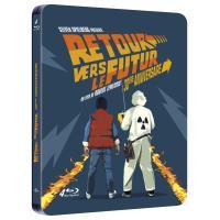 Retour vers le futur La trilogie Steelbook Blu-ray