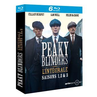 Peaky blindersPeaky Blinders Saisons 1 à 3 Coffret Blu-ray