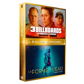 3 BILLBOARDS +  FORME DE L EAU-COFFRET-FR