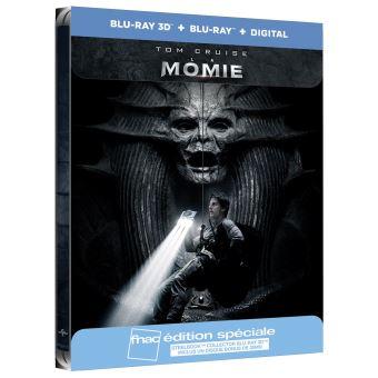 MummyLa Momie Steelbook Edition spéciale Fnac Blu-ray 3D