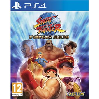 STREET FIGHTER 30TH ANNIVERSARY COLLECTION MIX PS4