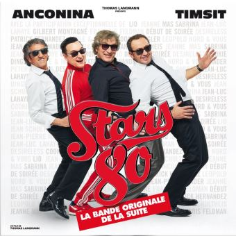 STARS 80 LA SUITE/2CD DIGIPACK
