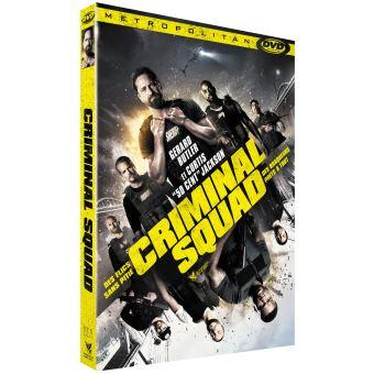 Criminal Squad DVD