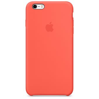 Coque en silicone Apple pour iPhone 6s Plus Abricot