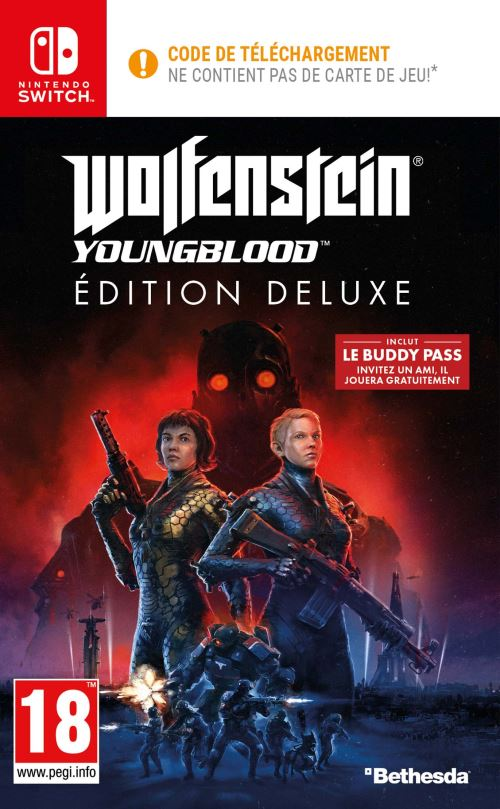 Wolfenstein Youngblood Deluxe Edition Nintendo Switch