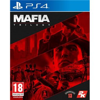 Mafia Trilogy FR/NL PS4