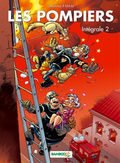 Les Pompiers - intégrale tomes 3 et 4