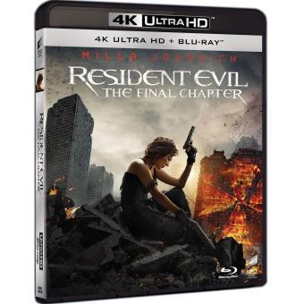 Resident EvilRESIDENT EVIL: THE FINAL CHAPTER-2BLURAY4K-NL