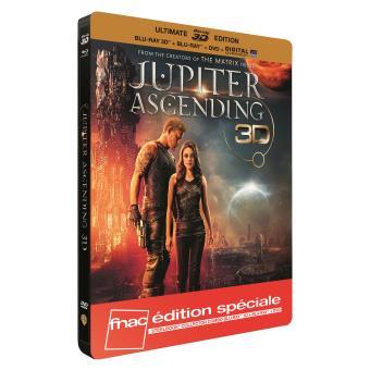 Jupiter Le destin de l'univers Steelbook Blu-Ray + Blu-Ray 3D + DVD