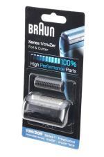 2516 Tête de rasoir Braun grille et bloc couteaux 10B combi p...