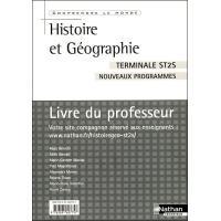 Histoire-geo term st2s prof