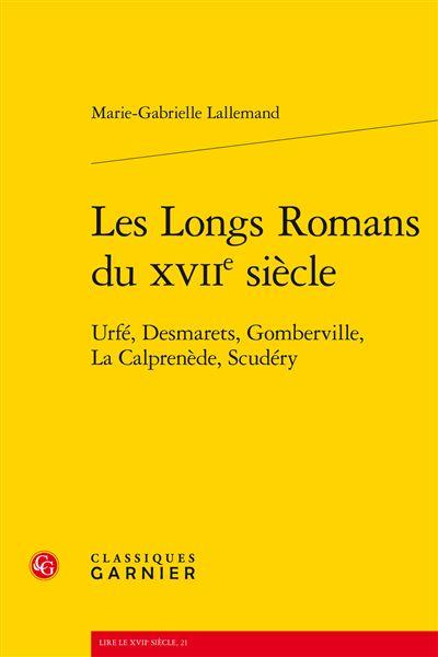 Les longs romans du XVIIème siècle