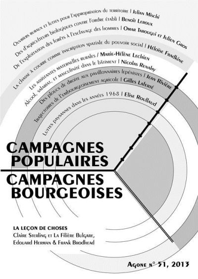 Campagnes populaires campagnes bourgeoises