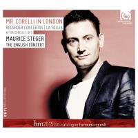 Mr. Corelli à Londres - CD catalogue