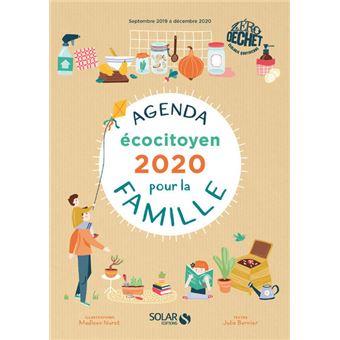Agenda Ecocitoyen Pour La Famille Zero Dechet