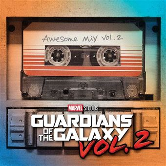 Guardians of the Galaxy V2 Awesome Mix V2 - LP Orange Vinil