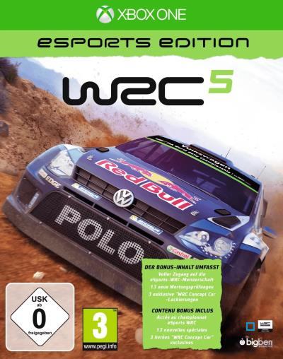 WRC 5 E-Sport Edition Xbox One