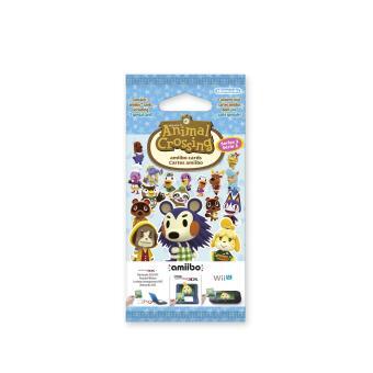 Paquet de 3 Cartes Amiibo Animal Crossing Serie 3