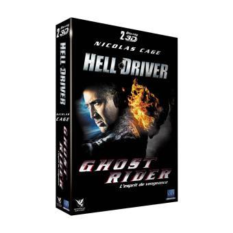 Ghost Rider 2, l'esprit de vengeance - Hell Driver Coffret Combo Blu-Ray 3D