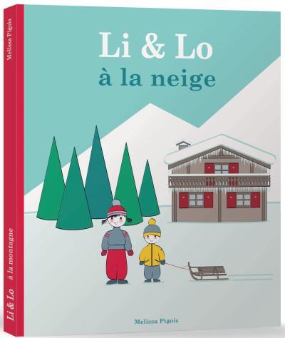 Li et Lo -  : Li et Lo à la neige