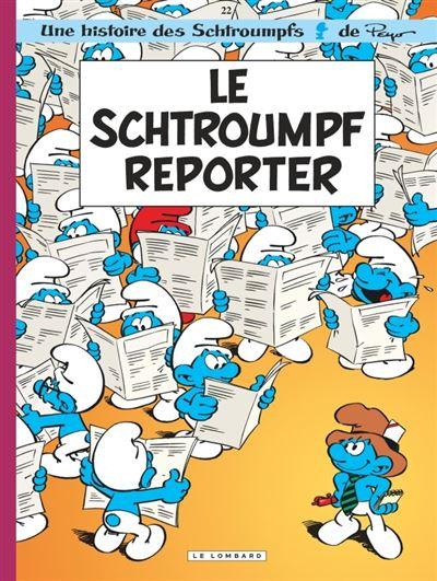 Les Schtroumpfs Lombard - Le Schtroumpf reporter