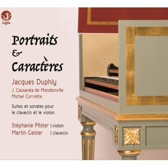 Portraits & Caractères Digipack