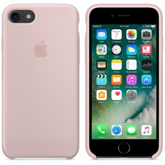 coque apple iphone 8 rose des sables