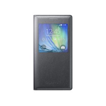 Etui à Rabat Samsung Sview Cover pour Galaxy A5, Noir