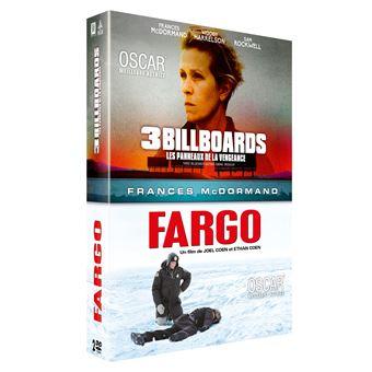 Coffret 3 Billboards Les panneaux de la vengeance et Fargo DVD