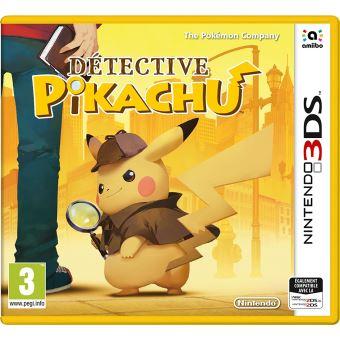 DETECTIVE PIKACHU FR 3DS