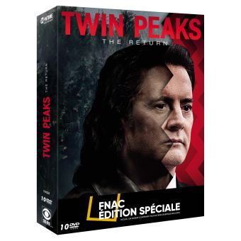 Twin PeaksTwin Peaks The Return Edition spéciale Fnac DVD