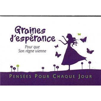 Graines d'espérance - broché - Collectif - Achat Livre | fnac