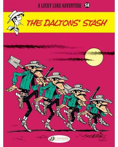 Lucky Luke - tome 58 The Dalton's Stash