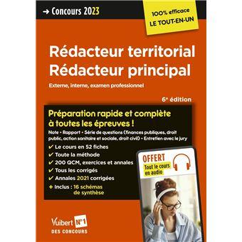 8cf50d10db1 Rédacteur territorial et Rédacteur principal Catégorie B Préparation rapide  et complète à ...
