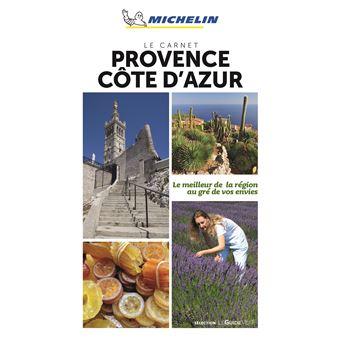 Le Carnet Provence alpes Côte d'Azur Michelin