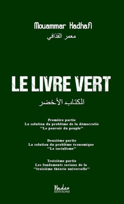 Le livre vert - 9791092128819 - 4,49 €