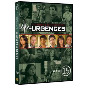 UrgencesUrgences Coffret intégral de la Saison 15 - DVD