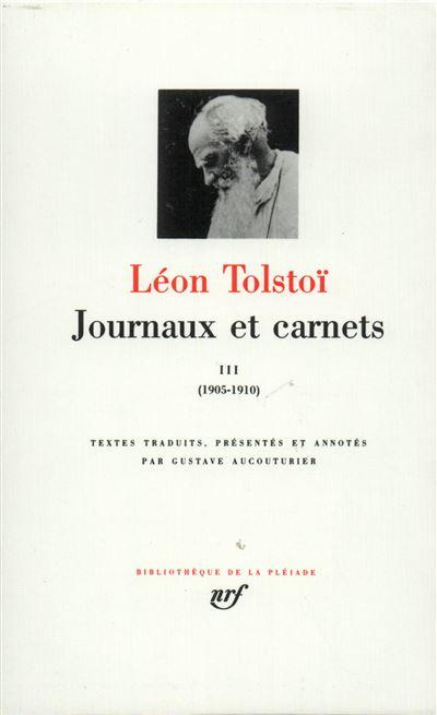 Journaux et Carnets (Tome 3-1905-1910)