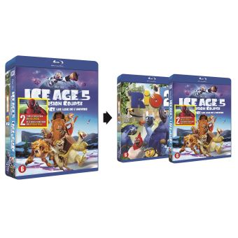 Ice age:collision course/Rio 2-DUO-PACK-BIL-BLURAY