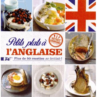 livre recette anglaise