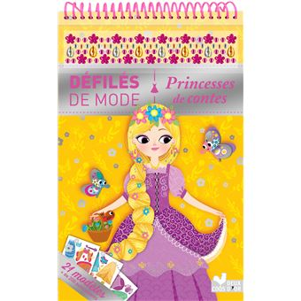 Princesses de contes Bloc à spirale