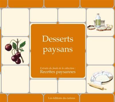 Desserts paysans