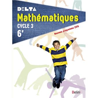 Delta Maths 6ème Cycle 3