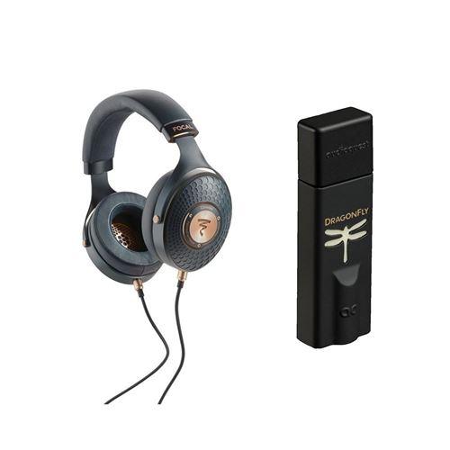 Un casque Focal Celestee + un ampli/DAC casque Audioquest Dragonfly Noir