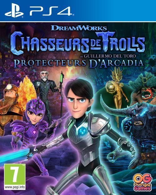 Chasseurs de Trolls Protecteurs d'Arcadia PS4