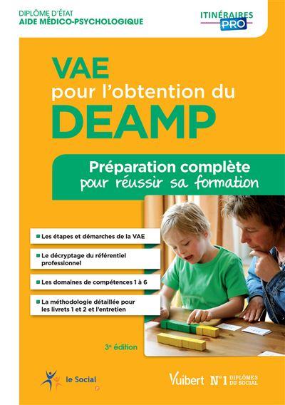 VAE pour l'obtention du DEAMP - Préparation complète pour réussir sa formation