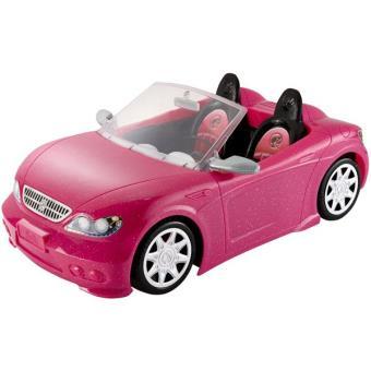 voiture cabriolet barbie rose accessoire poup e achat. Black Bedroom Furniture Sets. Home Design Ideas